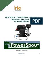 Turbinas PowerSpout v2