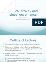 Lecture 7 Political Activity and Global Governance(1)
