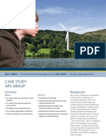 Bsi Iso 14001 Iso 9001 Case Study Aps Uk En