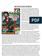 Kerrang Front Cover Analysis PDF
