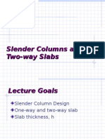 Slender column and two way slabs.ppt