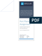 Port Planning Assignment