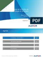 Performances et stockage d'énergie Ferroviaire Alstom