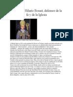 Monseñor Hilario Bosset