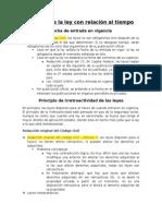 Borda Capitulo 4 - Efectos de La Ley Con Relacion Al Tiempo