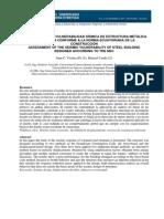 Evaluacion de La Vulnerabilidad Sismica de Estructura Metalica p