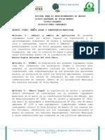 Reglamento Municipal Aridos 2013