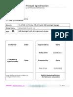 B156HAN01.2 lg datasheet