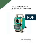 Manual de operação Estação total.pdf
