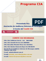20070818 Short Presentation Programa CIA Nicaragua