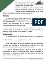 Medidas de Dispersión.. (1)