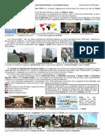 Participación de Argentina en Organismos internacionales y en Misiones de paz.