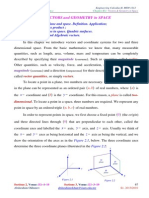 LECTURE 5 Vectors in Plane and Space S1 2015-2016
