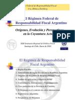 Regimen Responsabilidad Fiscalargentino