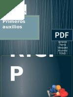 Primeros Auxilios.pptx PLAN de INTERVENCIÓN