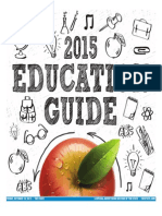 Education Guide, Fall 2015