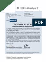 11-0242 BHEL MU 92LE Certificate (1)