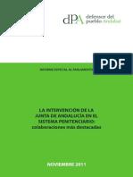 EDUCACION SISTEMA PENITENCIARIO - LA INTERVENCIÓN DE LA JUNTA ANALUCIA EN EL SISTE. PENITEN..pdf