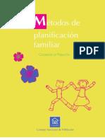 Metodos Planificacion Familiar