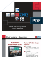 SNAP Extreme Information Document