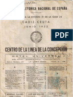 Guia telefonica 1952