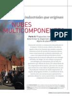 Accidentes Industriales Nubes Multicomponentes II