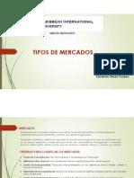 Tipos de Mercados-Diorkis Cordero S.
