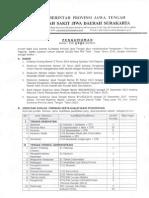 Pengumuman Rekruitment Pegawai Blud Non Pns Tidak Tetap Thn 2015