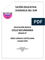 Guc3ada Unidad Dos Octavo 2014 Definitiva