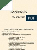 Tema 4.1 Renacimiento Arquitectura