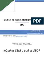 Posicionamiento SEO - Clase 1