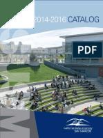 CSUSM 2014-16 Catalog