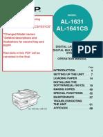 AL-1631 Instruction Manual