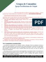 Grupos de Comunhão - Estudo 12.2015 - Benignidade e Bondade