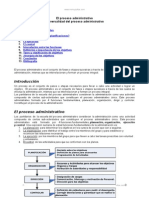 Administracion Moderna (Proceso Administrativo