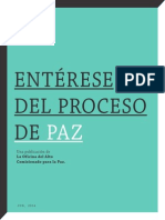 Enterese Del Proceso de Paz Version Imprimible