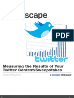 FS Whitepaper Twitter Contest Measurement
