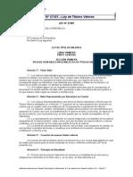 Ley de Titulos y Valores Nº27287aaasda