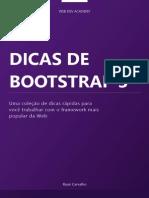 eBook Dicas Bootstrap 3