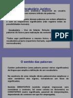 2. Vocabulário Jurídico