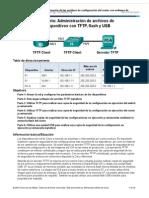 11 4 2 7administracion de Archivos de Configuracion de Dispositivos Con TFTP Flash y USB