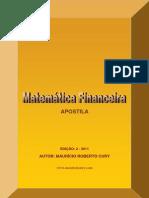 Apostila Matemática Financeira - Maurício Cury
