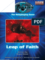 D20 - Babylon 5 RPG - 2nd Edition - Adventure - Leap of Faith
