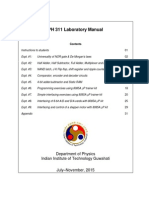 Lab Manual 8085 Microprocessor