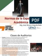 11-¦ Normas de la exposici+¦n acad+®mica