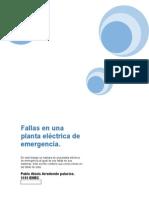 Fallas en Plantas Eléctricas de Emergencia (1)