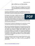 Elasticidad de La Oferta y La Demanda - SEMANA 4