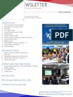 BIFS Newsletter, 2015-10-09 (English)