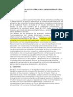 calidad sanitaria de comedores universitarios de la ciudad de trujillo( esquema)