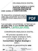 Conversion Analogica Digital
